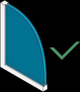 Icon of a double-pane window.