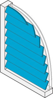 Icon of a window with shutters