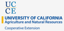Logo of the University of California Department of Agriculture and Natural Resources.