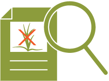 Icon of a form with list of invasive plants to not plant.