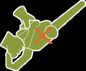 Icon of a leaf blower.