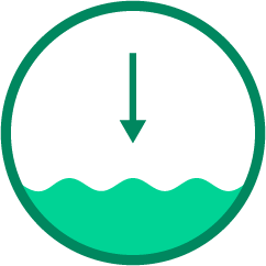 icon for reducing water use