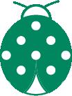 Icon Of A Ladybug