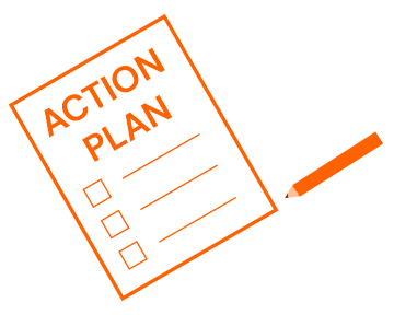 icon of an action plan form