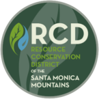 Logo of the Resource Conservation District of the Santa Monica Mountains